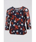 T-Shirt Anemone manches 3/4
