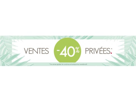 SALES PRIVATE | -40% ! The prize cannons before the sales !