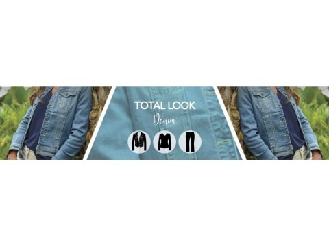 total look printemps ete 2020 | veste denim deb picot pantalon 19017