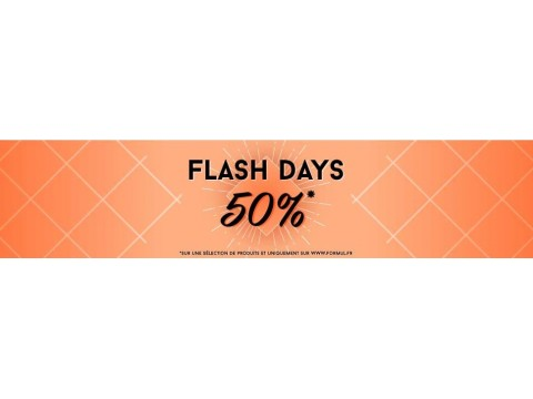 flash days ! references to -50%