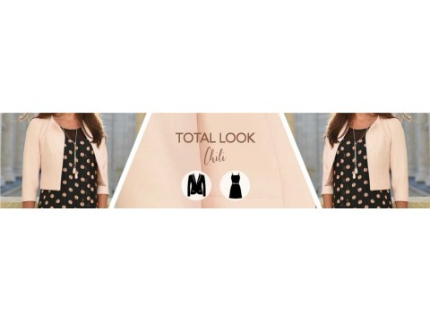 total look spring summer 2020 | dress chili pea jacket smartie nude